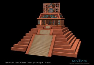 Temple of the foliated Cross