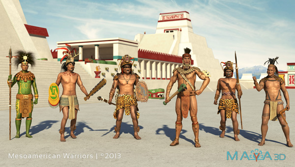 Mesoamerican Warriors